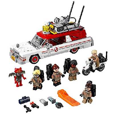 LEGO Ghostbusters Ecto-1 & 2 75828 Building Kit (556 Piece) by LEGO Ghostbusters