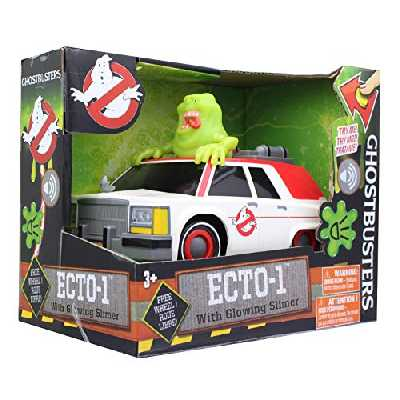 Ghostbusters ECTO-1 Véhicule et Figurine Slimer