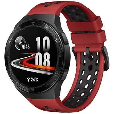 HUAWEI WATCH GT 2e Montre Connectée, Ecran Tactile AMOLED HD de 1.39 Pouces, Autonomie de 2 Semaines, GPS & GLONASS, Modes D'entrainement Personnalisés, VO2Max, Surveillance du Rythme Cardiaque, Rouge