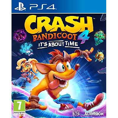 Crash Bandicoot 4 : It's About Time (PS4)