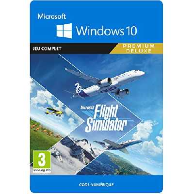Microsoft Flight Simulator Premium Deluxe Edition | Téléchargement PC - Code