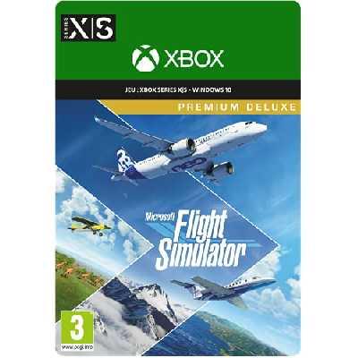 Microsoft Flight Simulator Premium Deluxe  Code Jeu à Télécharger pour PC et Xbox Series X   S