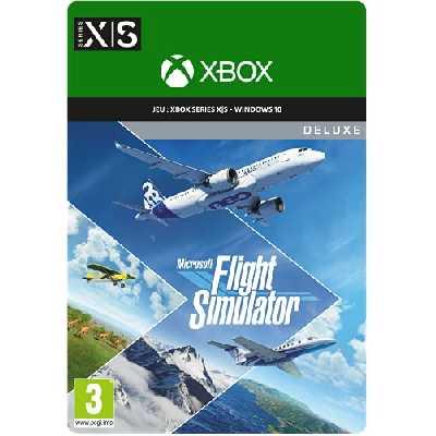 Microsoft Flight Simulator Deluxe Edition   Code Jeu à Télécharger pour PC et Xbox Series X   S