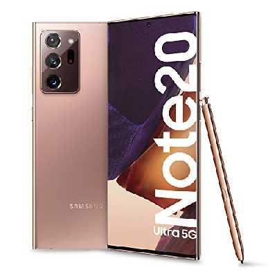 Samsung Galaxy Note 20 Ultra 5G Dual SIM 256 Go 12 Go RAM SM-N986B/DS Brun