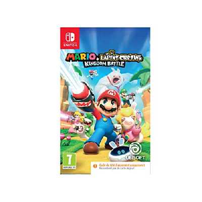 Mario + The Lapins Crétins Kingdom Battle Code In Box (Nintendo Switch)