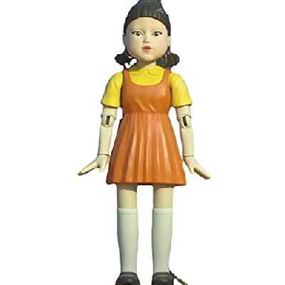 Squid Game Figure, Drame Coréen Squid Game Series Poupée Figurine Ornements, Accueil Décoration Collect -Yellow