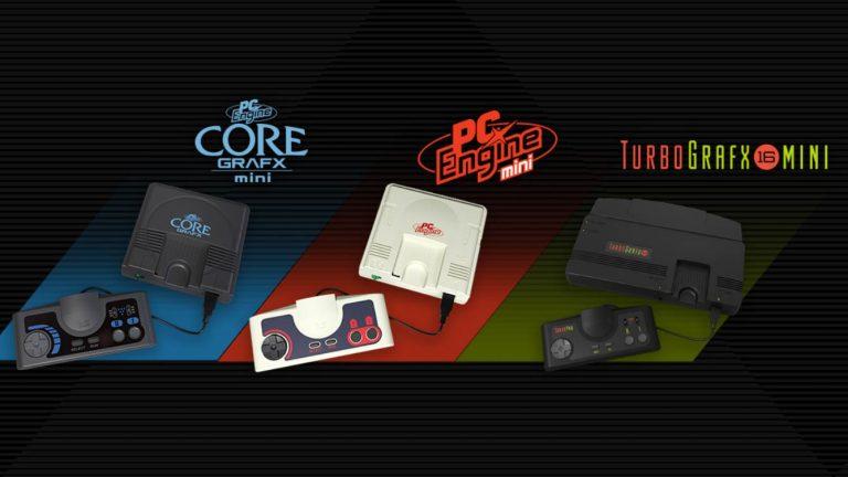 Konami annonce la PC Engine Mini lors de l\