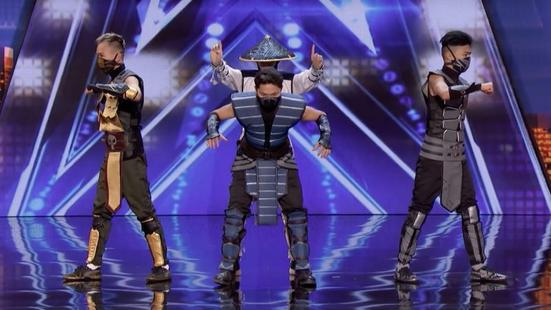 Mortal Kombat dans America's Got Talent, cette performance va vous scotcher !