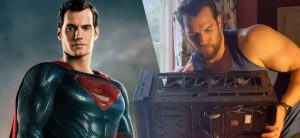 superman alias-henry-cavill-monte-un-pc-et-internet-aime