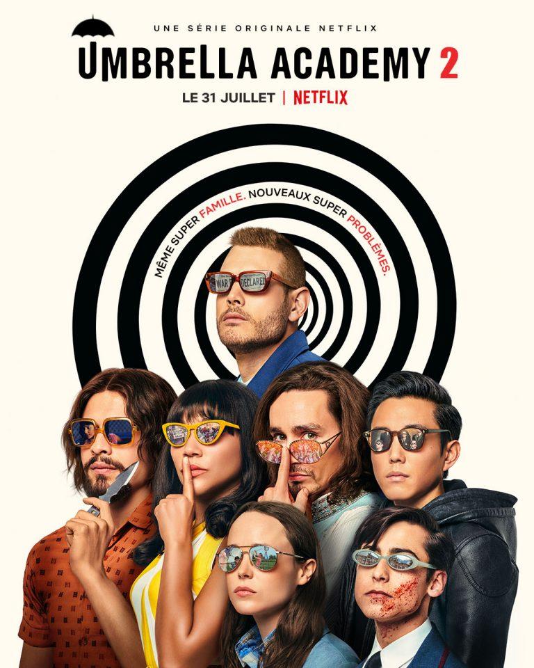 UMBRELLA ACADEMY 2 arrive sur Netflix, voici le Trailer