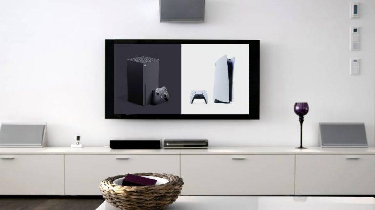 Sélection des TV PS5 et Xbox Series X ready