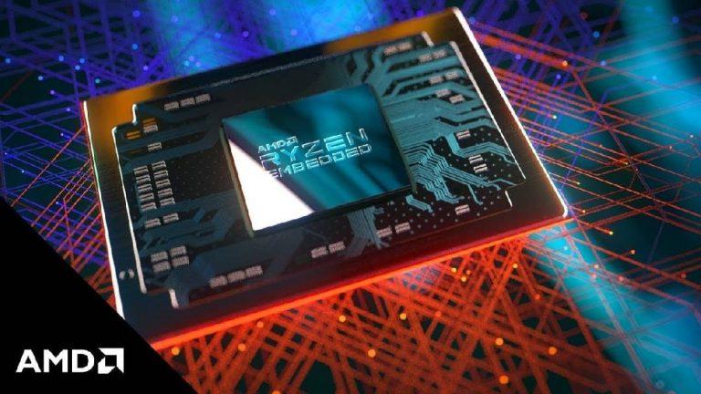 AMD annonce le nouveau processeur Ryzen Embedded V2000 Series