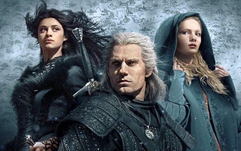 The Witcher saison 2 : Les photos du tournage montrent Geralt (Henry Cavill) et Ablette