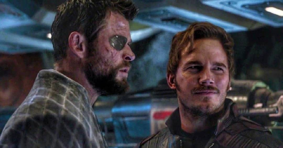 Star Lord et Thor