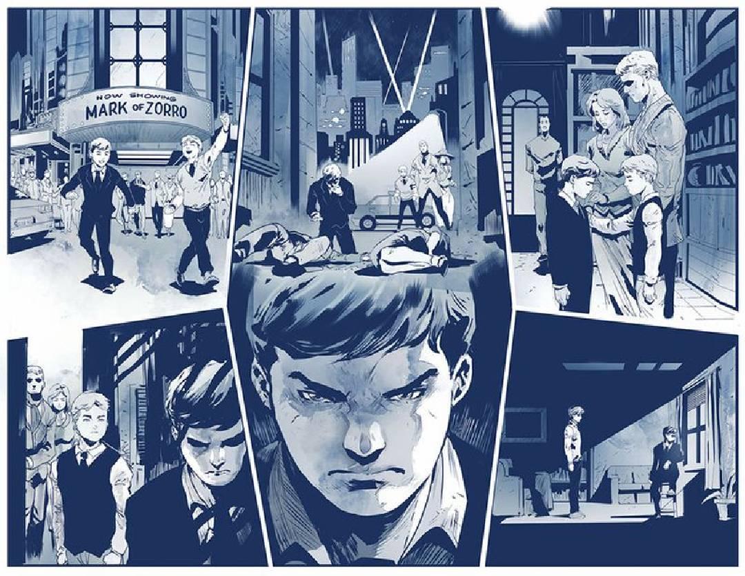 Thomas Elliot et Bruce Wayne - Batman Hush