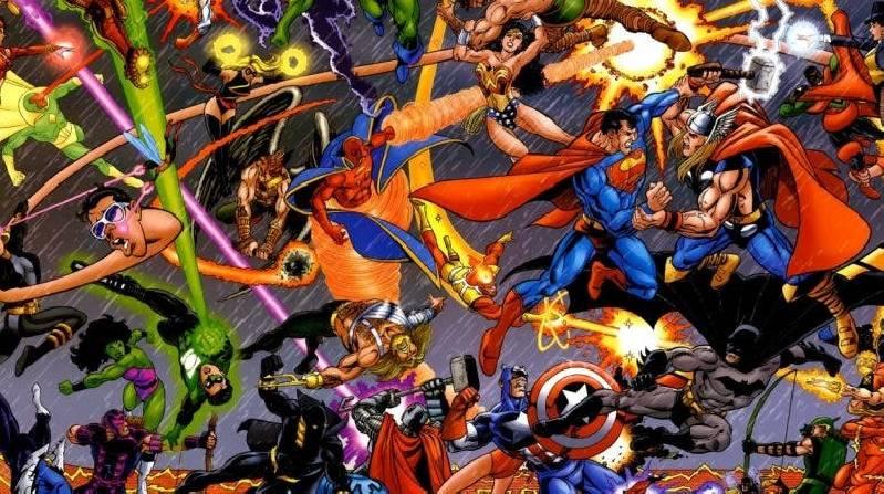 Marvel contre DC Comics
