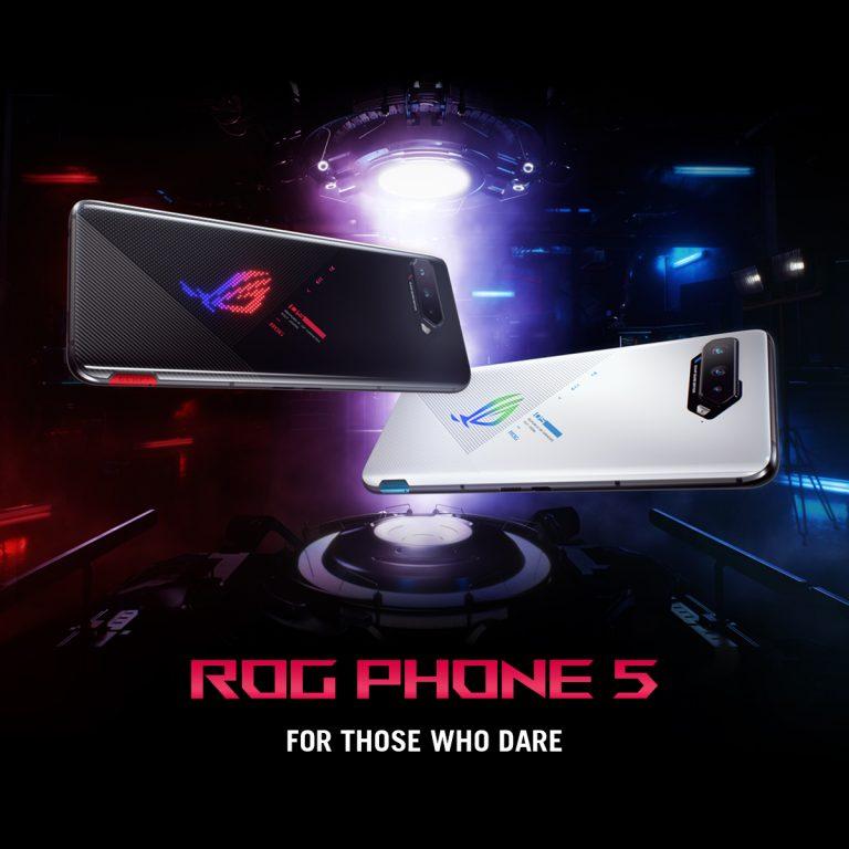 ROG Phone 5 : Asus lance de nouveaux smartphones gaming avec l'accent sur la qualité audio des jeux