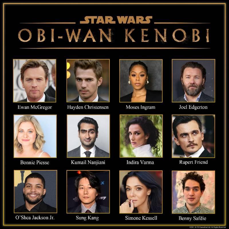 casting de la série obi wan kenobi