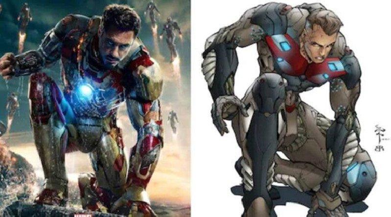 Iron Man Marvel Radix Comic Book